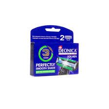 Сменные <b>кассеты Deonica for men</b>, 3 лезвия, 2 шт + станок в ...