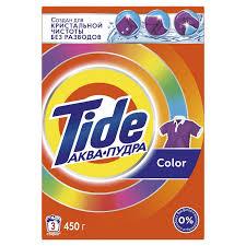 <b>Порошок стиральный Tide Color</b> автомат 450г д/цветного белья