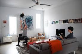 100k living room modern living room idea in philadelphia with concrete floors beautiful high modern furniture brands full
