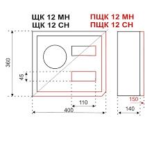 <b>Щит распределительный встраиваемый</b> ЩРВ-П-15 IP41 EKF ...