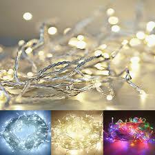 2m <b>3m</b> 5m 10m <b>LED</b> Weihnachten Party Lichterkette Dekoration ...