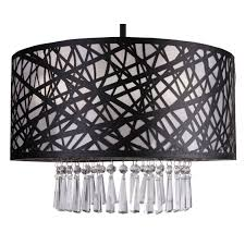 whitfield lighting wynne 3 light drum chandelier chandeliers pendants wayfair drum lighting