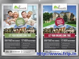 best real estate flyer print templates   pro real estate flyer template