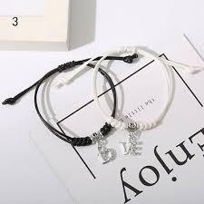 <b>Bracelets couple</b> hand rope Korean personalized <b>accessories</b> ...