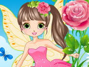 <b>Beautiful Flower Fairy</b> - Play The <b>Girl</b> Game Online