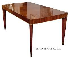 art deco rectangular dining table era interiors art deco dining table art deco dining room table