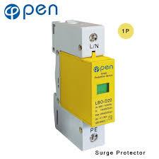 <b>OPEN</b> LBO-D20 Series Household SPD Surge Protector <b>1P</b> 10kA ...