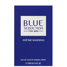 <b>Antonio Banderas Blue Seduction</b> Eau de Toilette Spray 100ml ...