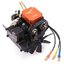 4 stroke rc engine gasoline model engine kit starting motor <b>for rc car</b> ...