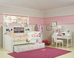 bedroom adorable teenage girl furniture sets teen girls white daybed with bookcase sideboard and trundle mixed chairs teen room adorable