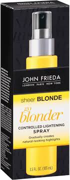 <b>John Frieda Sheer Blonde</b> Go Blonder Controlled Lightening Spray ...