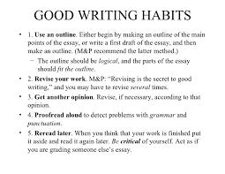 essay on good habits  spok ipnodns ruessay on reading is a good habit at azazaessay com pl good habits good writing habits