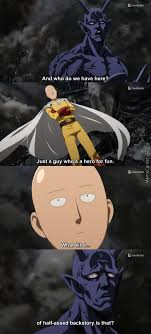 Onepunch Man Memes. Best Collection of Funny Onepunch Man Pictures via Relatably.com
