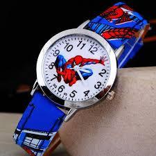 Buy Ayiqi <b>Hot Sale SpiderMan Watch</b> Cute Cartoon Watch Kids ...