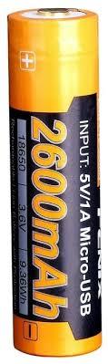 Купить <b>Аккумулятор</b> Li-Ion 2600 мА·ч <b>Fenix</b> 18650 <b>ARB</b>-<b>L18</b>-<b>2600U</b> ...