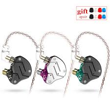 <b>KZ ZSN</b> 1BA+1DD Heavy bass commutative cable earphone HIFI ...