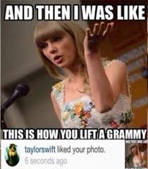 Sassy Taylor Swift Memes, Smug Funny Pictures about Singer's ... via Relatably.com
