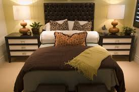 bedroom ideas decorating khabarsnet: modern colours brown theme decosee com