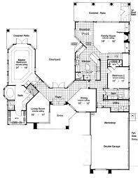 Plan HD  Two Story Courtyard House Plan   Courtyards    Rear Courtyard House Plans       Lot  Photo Gallery  Mediterranean  Florida