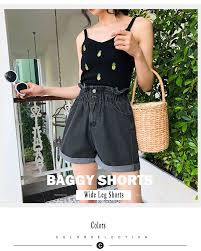 YuooMuoo 2019 Summer Black <b>Women Casual Jeans</b> Shorts ...