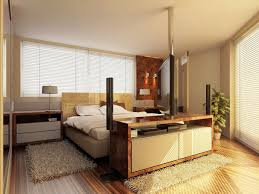 modern bedroom interior white color theme