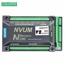 NVUM 6 Axis <b>cnc</b> engraver <b>Mach3</b> USB Card 300KHz 3 <b>4</b> 6 Axis ...