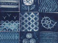 batik Shibori: лучшие изображения (168) | Окрашивание ткани ...