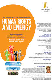 west virginia state university college of business and social 2016 conference on international human rights