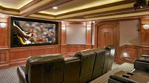 themed family rooms interior home theater: