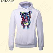 Online Shop <b>ZOTOONE</b> Cute Multicolor Dog <b>Iron</b> on Patches 12.4 ...