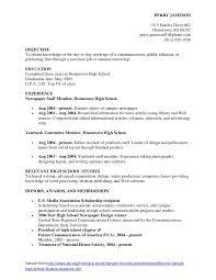 sample resume objective high school student   best sample resumes     sample resume objective high school student