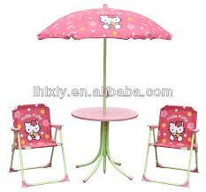 patio set chair hello kitty kids patio set kids outdoor furniture table and chairs set