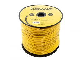 Кабель <b>Swat SCW-4Y силовой кабель</b> yellow — купить по лучшей ...