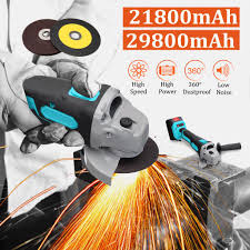 MUTIAN Electric <b>Cordless</b> Angle Grinder Polishing Machine Cutting ...