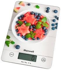 Купить <b>весы кухонные Maxwell MW</b>-<b>1478</b> — СебеВДом.ру