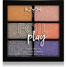 NYX Professional Makeup <b>Foil</b> Play <b>палетка теней</b> для век | notino.ru