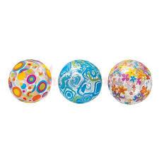Мяч <b>Прозрачный</b> 3 вида 61 см 3+ лет <b>Intex</b> 59050, цена - купить с ...