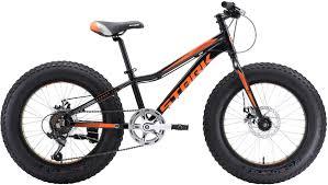 Велосипед кросс-кантри <b>Stark</b>'18 Rocket Fat D, диаметр <b>колес 20</b> ...