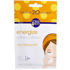 Miss Spa, Energize, <b>Pre</b>-<b>Treated</b> Gel Eye Masks, <b>1</b> Pair - Buy Online ...