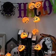 Kloius <b>Halloween LED Decorative</b> String Lights Pumpkin Shape ...