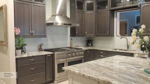 kitchen custom stacked cabinetry inset