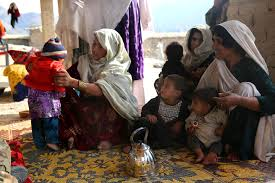 u s department of defense photo essay local afghan women and children gather around female u s iers in the sarobi district of kabul