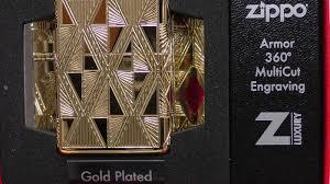 <b>Зажигалка</b> Zippo <b>Armor Luxury Diamond</b> High Polish Gold Plate ...