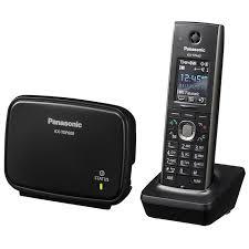 <b>SIP телефон Panasonic</b> KX-TGP600, черный — купить в интернет ...