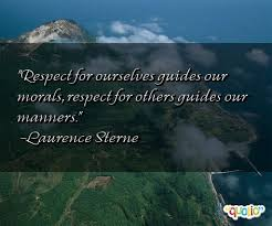 Quotes On Respect And Manners. QuotesGram via Relatably.com