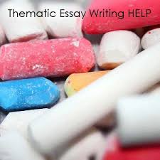 how to write a thematic essay  tips and hints   thematic essay        delivery for emergencies  customer service is one of the best in the industry  so try them today  tips on writing thematic essays