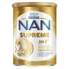 <b>NAN Supreme</b>, для детей с рождения, <b>смесь молочная</b> сухая, 400 ...