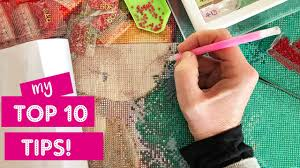 Top 10 Tips for <b>Diamond Painting</b> - YouTube