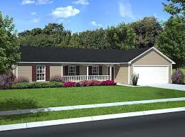 House Plan at FamilyHomePlans comCountry Ranch Traditional House Plan Elevation