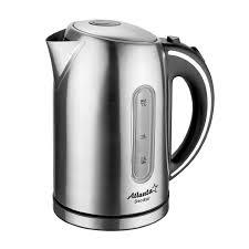 <b>Электрический чайник</b> металлический, <b>Atlanta ATH</b>-<b>2425</b> black